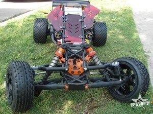 Image 2 - バハ5bアップグレードwindows用rovan km hpi 1/5 rcカー防塵窓(赤)