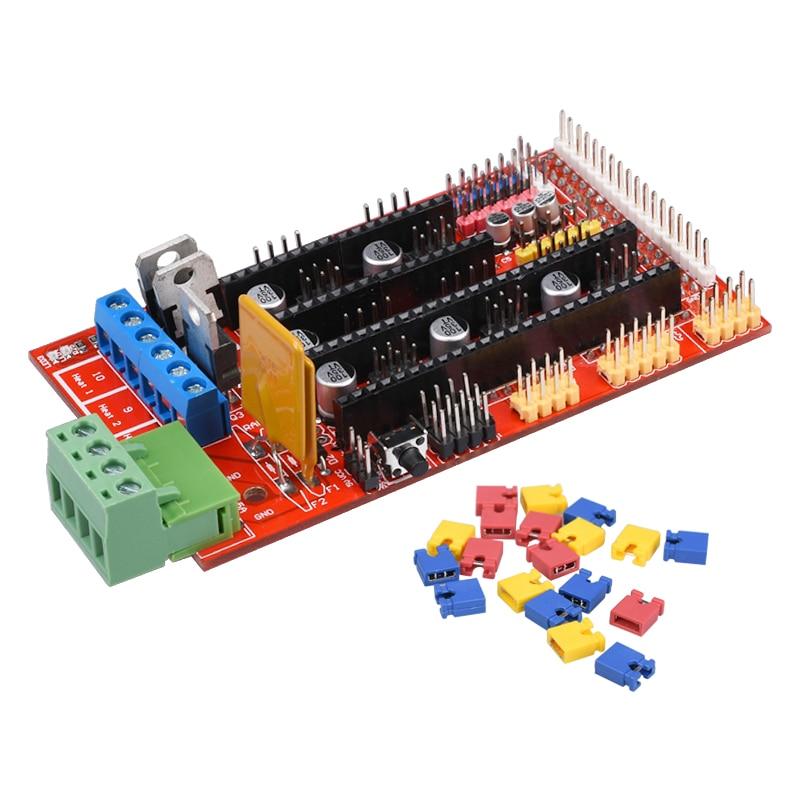Multicolor RAMPS 1.4 3D printer control panel printer Control Reprap Mendel RAMPS with high quality