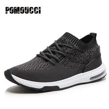 2017 New Mens Running Shoes Mesh shoes for men shoes sport summer outdoor classic male shoes Flying woven breathable shoes