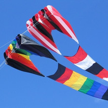 Новое поступление 3D высококачественный пилотируемый воздушный змей нейлон CLOTHE POWER WINDSOCKS/надувные воздушные змеи хороший воздушный змей фестиваль
