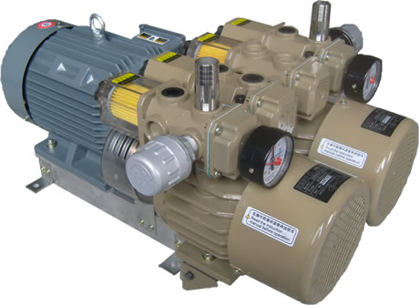 цена на Oil-free vacuum pump rotary vane pump / air pump / printer air pump WZB80-P-VB-03 3-phase power AC380V 50HZ