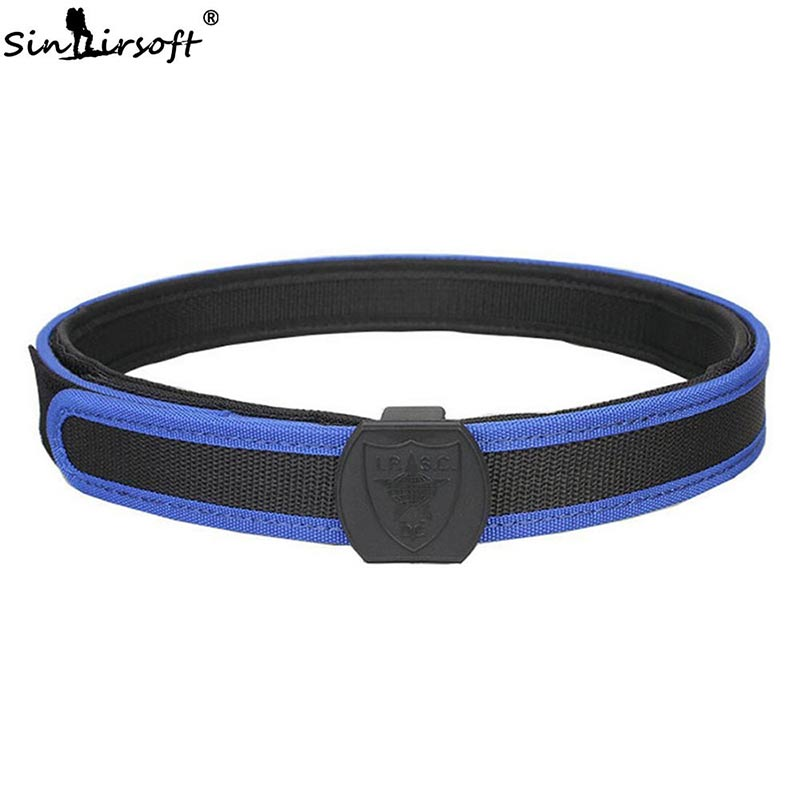 SINAIRSOFT Military Tactical IPSC Belt Adjustable Tactical Equipment Combat Waist Shooting Belt For Hunting Paintball SA4613