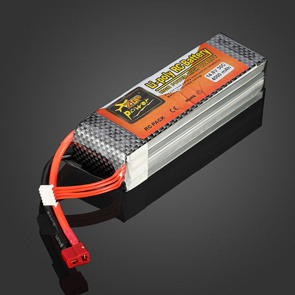 High Quality  ZOP Power 14.8V 4000MAH 30C Lipo Battery T Plug high quality zop power 11 1v 1500mah 25c lipo battery t plug