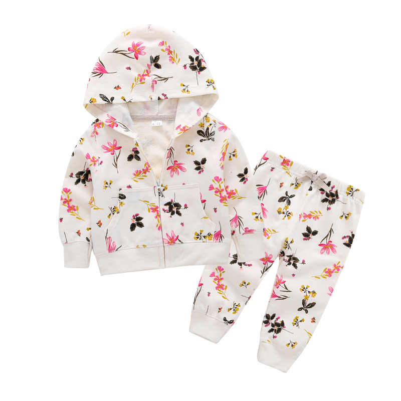 Baby Sale Real Active Cotton Unisex Full Clothes For Girls, Fall Dresses, 2018 Prints, Cartoons, Pants, 2 Dresses For Children