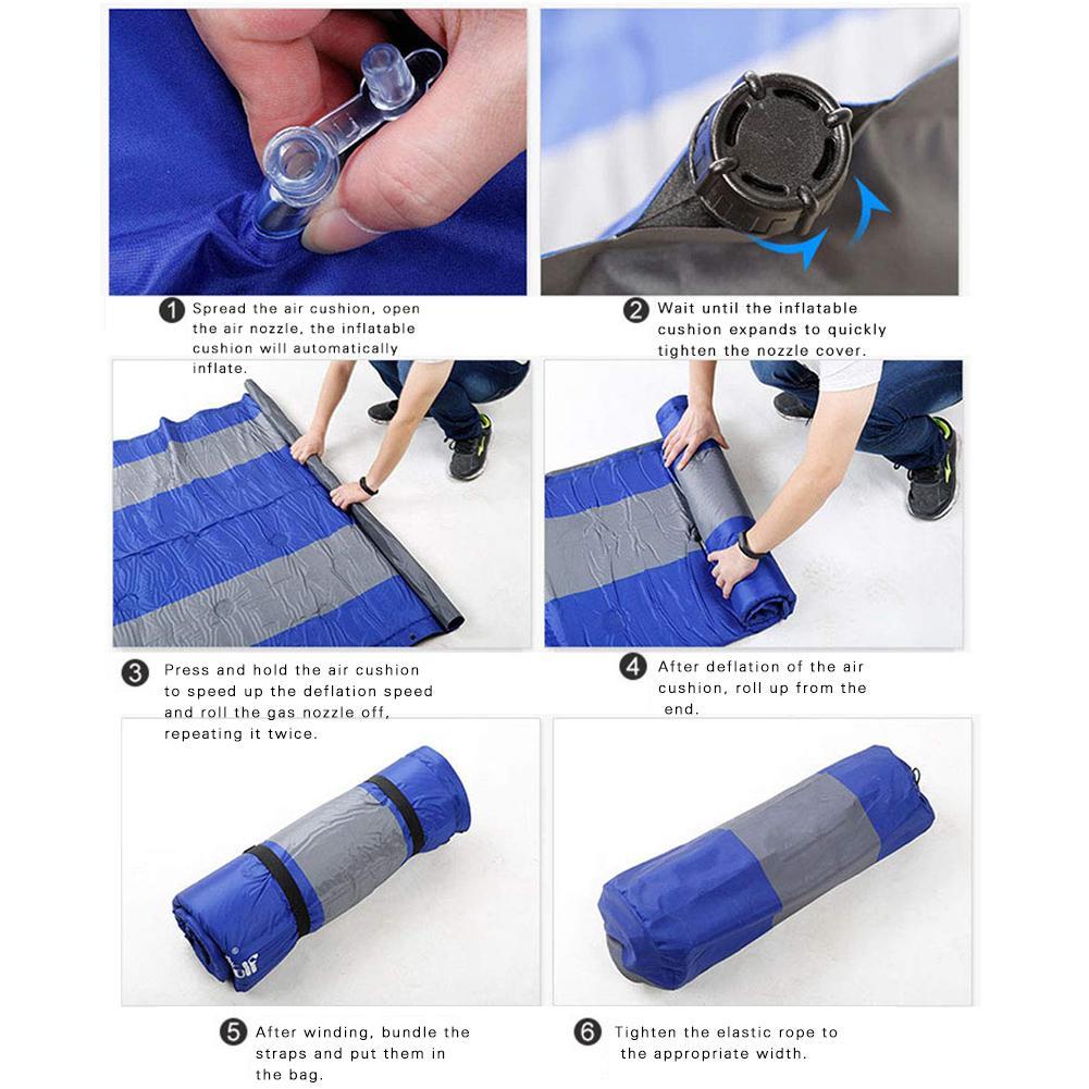 Надувной матрас для внедорожника, автомобиля, кемпинга, надувной матрас для автомобиля, надувной матрас, надувной матрас для автомобиля - 6
