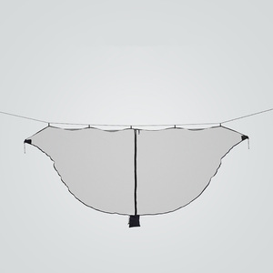 Image 4 - Fast Easy Setup Hammock Bug Net Fits ALL Camping Hammocks Compact  SECURITY From Bugs Mosquitoes Exclusive Polyester Mesh