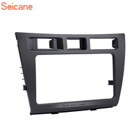 Seicane DVD CD Panel Audio Player Trim Install Frame Double Din Car Radio Fascia Dashboard For 2005 Toyota Mark II