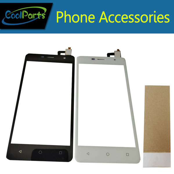 1PC/Lot For Prestigio Wize PX3 PSP3528 DUO PSP3528 Touch Screen Digitizer Touch Panel Lens Glass With Tape Black White Color