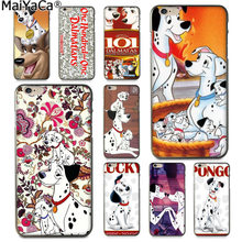MaiYaCa 101 Dalmatians One Hundred and One London Adventure Phone Case for Apple iphone 11 pro 8 7 66S Plus X 5S SE XS XR XS MAX(China)