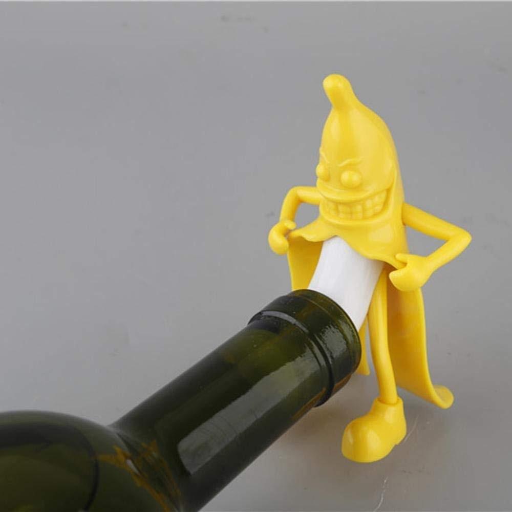 Mr Banana Bottle Stopper In