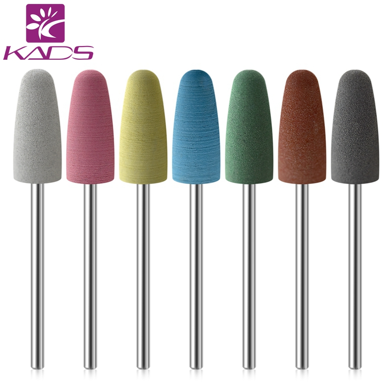 KADS Electric Nail File Rubber Nail Drill Bits Flexible Polisher Manicure Machine Nail Accessories Pedicure Milling Cutters весы soehnle page evolution white 66177