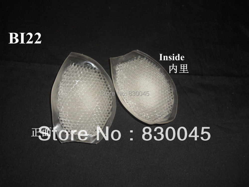 Breathable Honeycomb-shaped Breast pad 100%Silicone Bra Insert