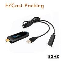 Ezcast 5g HDMI 1080 p Sticks para televisión dongle pantalla DLNA chromecast DLNA miracast AirPlay Stick para iOS Android OS Ventanas smartphone