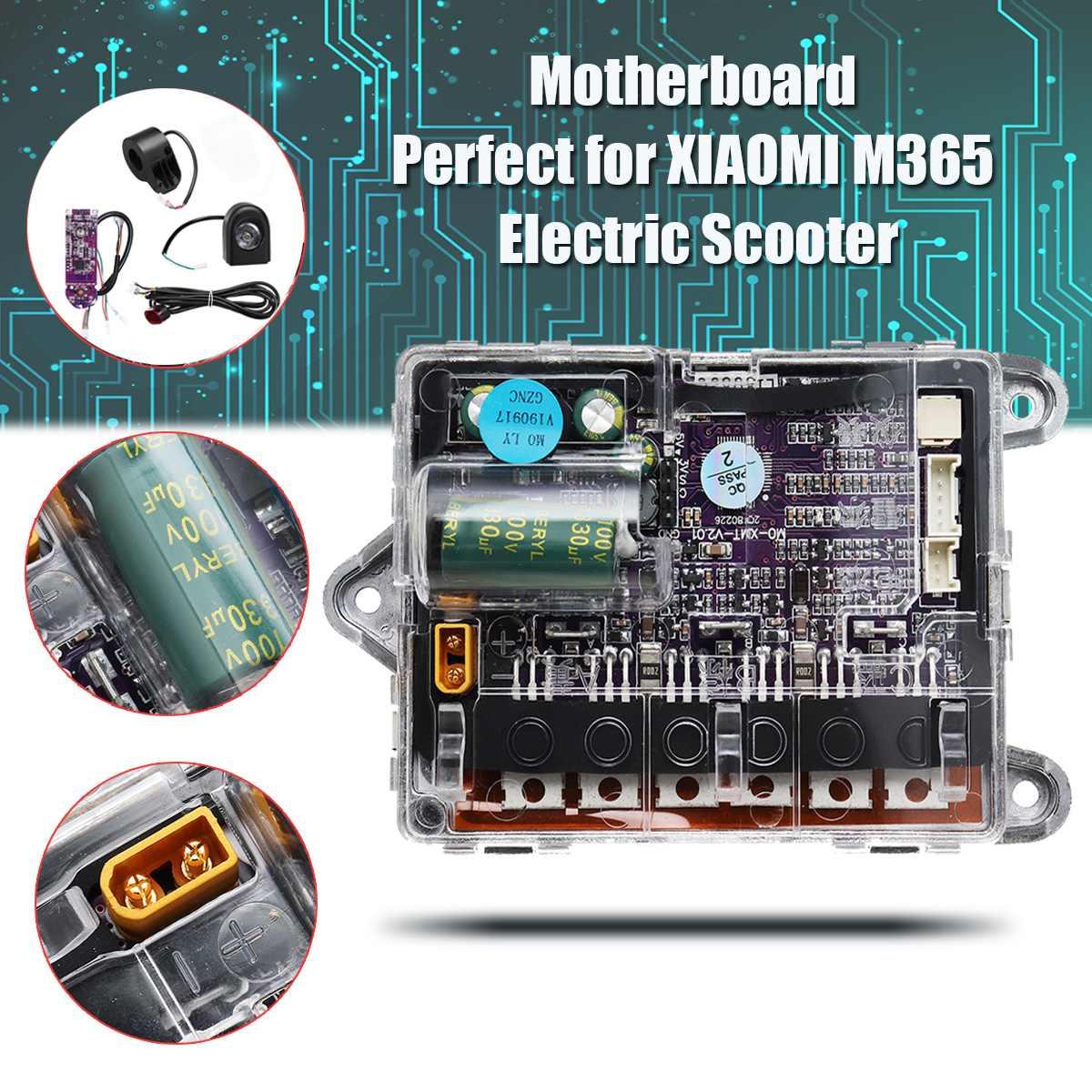 Carte mère pour xiaomi m365 Scooter électrique planche à roulettes contrôleur de carte principale ESC Circuit imprimé phares Kit de remplacement