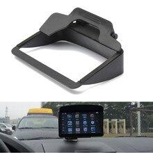 2016 Brand New Universal Black Sun Shade Visor Screen For GPS Sat Nav With 4.3 & 5 Screen