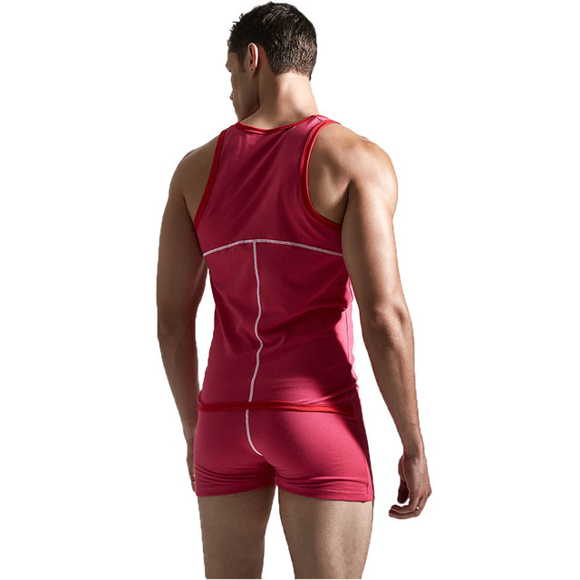 KWAN.Z body t shirt high quality body shaper men corsets tights for men cotton colorful slimming clothes erkek korse undershirt