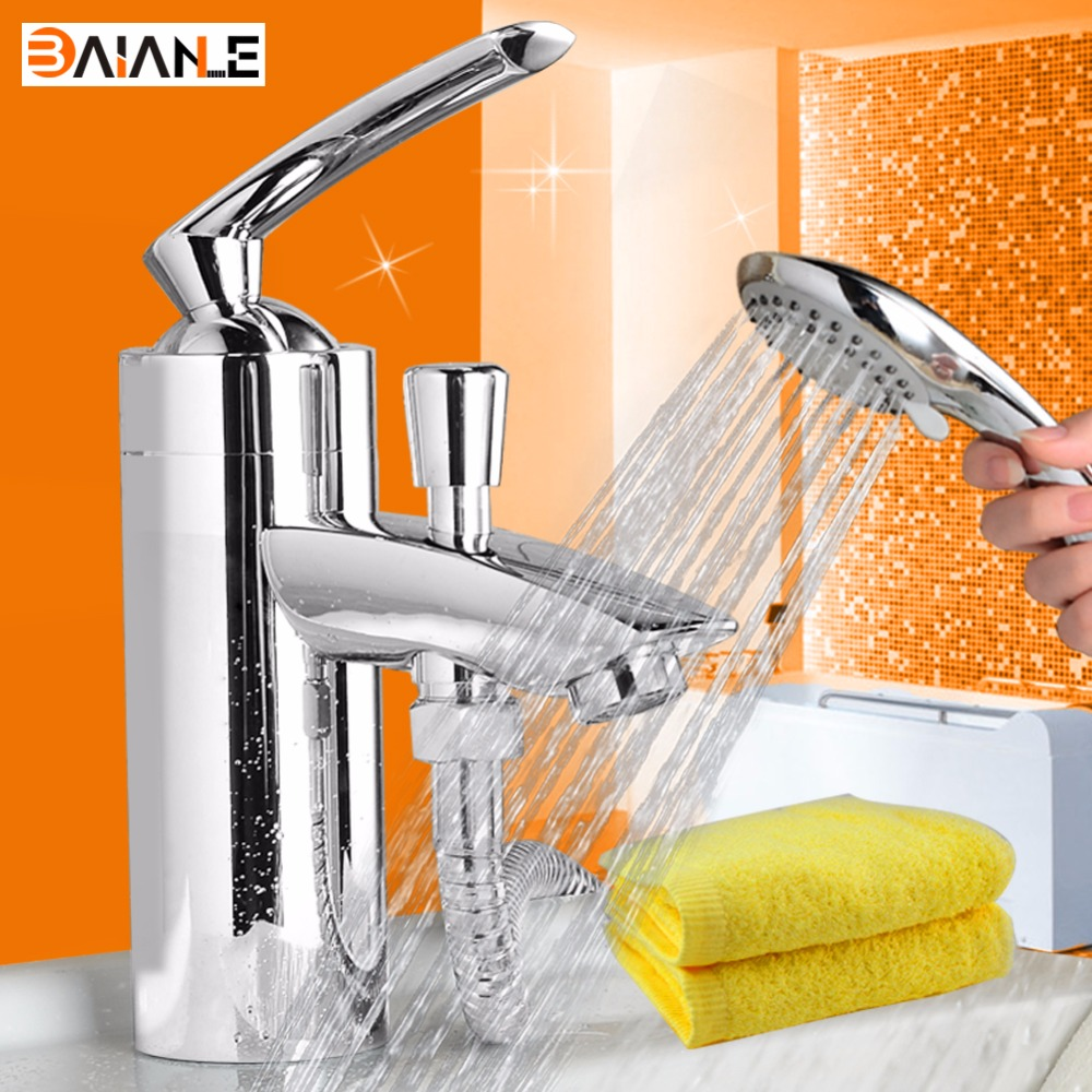 Basin Faucet New arrival Deck Mounted Brass Body Material With shower head Bathroom Movable tap mixer accessories complete p80 panasonic super high cost complete air cutter torches torch head body straigh machine arc starting 12foot