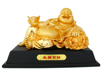 Resin handicraft, the god of wealth Buddha furnishing articles wealth treasures fill the home decoration home decoration