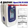 Blood Oxygen Oximeter Monitor ossimetro Sleep Data Record Monitor SPO2 PR PI ODI