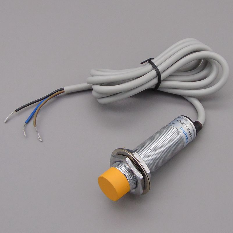 M18 8mm sensing DC 5V NPN NO LJ18A3-8-Z/BX-5V cylinder inductive proximity sensor switch work voltage 5VDC special for MCU 1pcs m8 2mm sensing inductive proximity sensor switch npn work voltage 5v dc special for mcu
