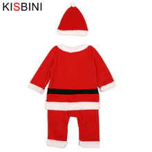 Christmas Baby Girls Clothes Santa Claus Set