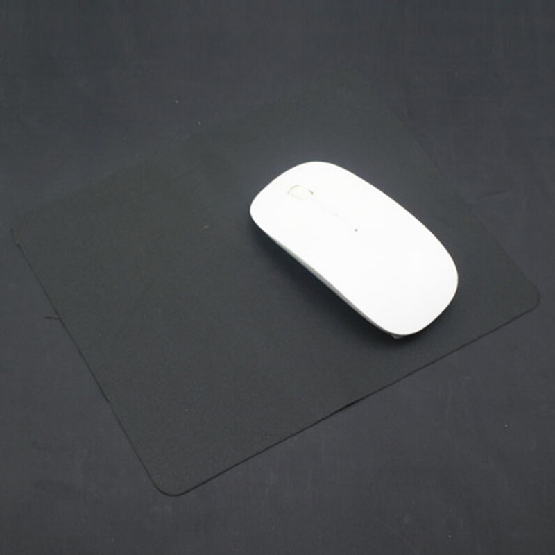 New 1Pc Anti-Slip Computer Rubber Gaming Mouse Pad Mouse Mat Pad Mat Black For PC Laptop 21X17cm