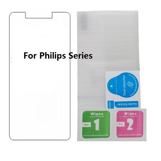 Tempered Glass For <font><b>Philips</b></font> Xenium S386 <font><b>S326</b></font> S318 V526 V787 9H 2.5D Film <font><b>Screen</b></font> Protector For <font><b>Philips</b></font> Xenium X818 X588 X596 X586 image