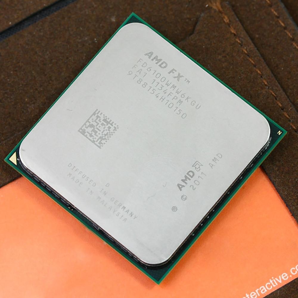 AMD FX 6100 AM3+ 3.3GHz/8MB/95W Six Core CPU processor цены
