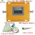 Conjunto completo Display LCD display LCD 4G DCS 1800 Mhz impulsionador 10 Cabo + Antena interior e Exterior, DCS 1800 Mhz repetidor de sinal amplificador
