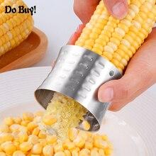 Сделать купить кукурузного початка Стриптизерша Овощечистка Кукуруза Slicer овощерезка Творческий Круглый Splitter инструменты Кухня гаджеты аксессуары