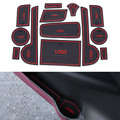 13Pcs/Set Car Styling Slot Pad Interior Door Groove Mat Latex Anti-Slip Cushion For Lexus CT200 Car Internal Dedicated
