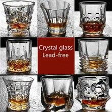 Новая классическая творческий вина Виски кристалл очки для плаванья личность Европейский духи пивной бар стеклянная чашка питие для вечеринки здоровый