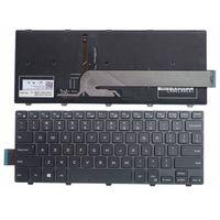GZEELE Englisch Neue Laptop Tastatur für DELL Vostro 14 5459 backlit hintergrundbeleuchtung
