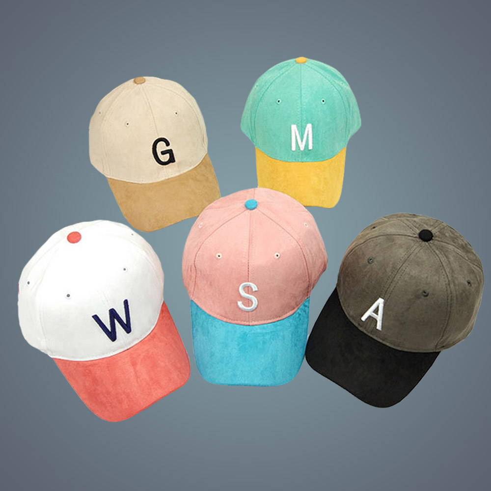 New Embroidery Suede Baseball Cap New Brand Casual Sportcap two tone Suede Snapback Hat Gorra Hombre Letter Cappello Hip Hop Hat 2015new cayler lk snapback casquette gorra baseball cap
