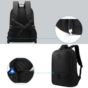 Image 2 - Sac à dos Anti vol pour hommes, sacoche étanche pour adolescents, chargeur USB, décontracté pouces, sacoche de voyage 15.6 Mochila