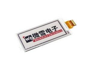 2,9 дюймовая электронная бумага (B) панель для электронных чернил 296x128, модуль электронной бумаги, красный, черный, белый, три цвета, без печатн...