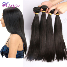Hot Selling mink brazilian virgin hair straight 4 bundles human hair weave Hair products virgin brazilian straight hair bundles