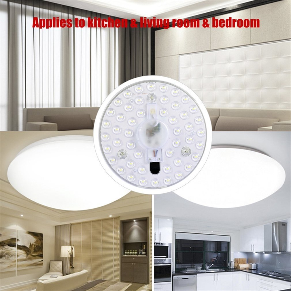 24W LED Ceiling LED Ceiling Lights Lighting Fixture Modern Lamp Living Room Bedroom Kitchen Surface Mount Remote Control