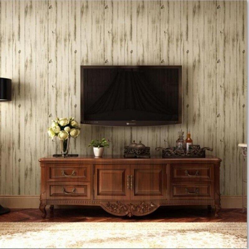 Beibehang méditerranée rétro nostalgie grainer rayures verticales papier peint chambre papier peint boutique pour TV toile de fond papier peint 3d