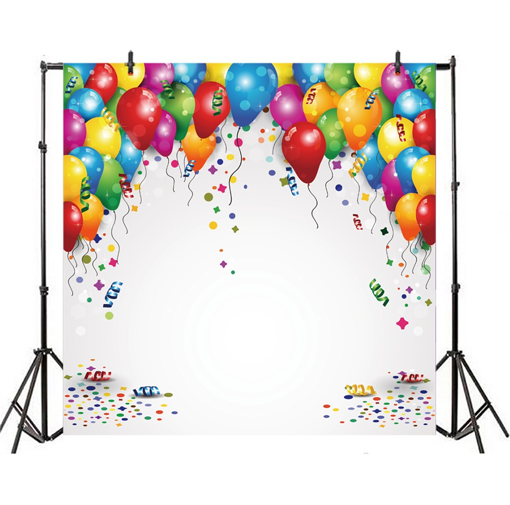 Laeacco Romantic Balloon Wedding Portrait Scene Party Photography Backgrounds Customized Photography Backdrops For Photo Studio in Background from Consumer Electronics