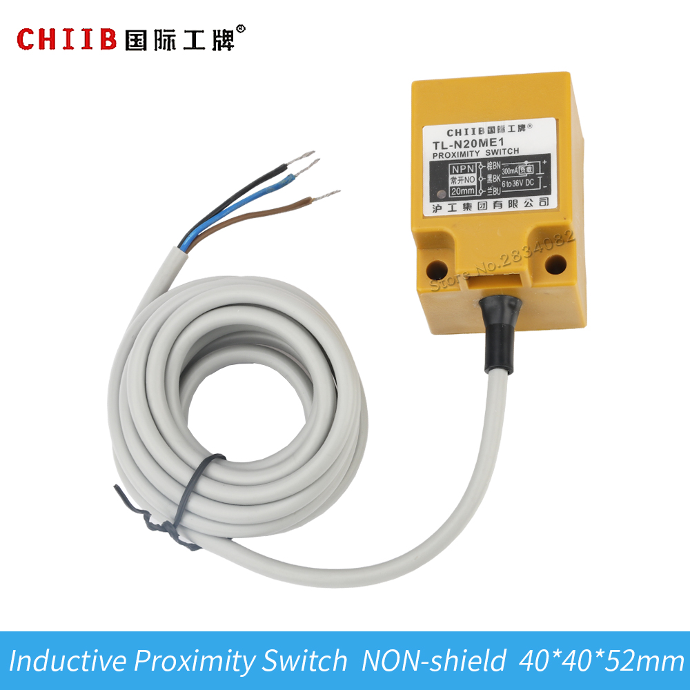 Free Shipping Dc12 24v 3 Wire Inductive Proximity Sensor Switch