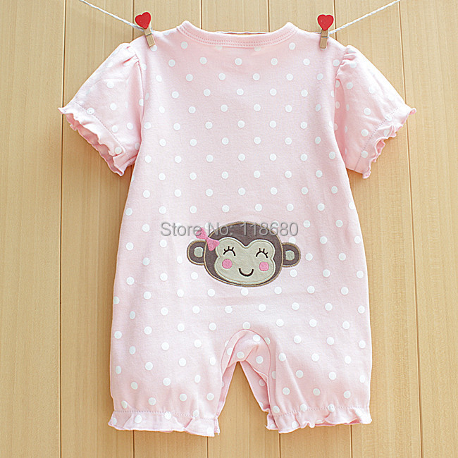 d2b4d3e24 new 2014 summer rompers baby clothes Newborn short sleeves romper ...