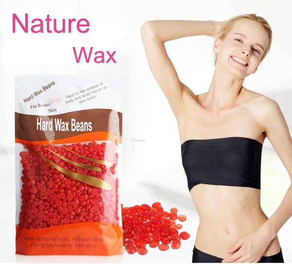 50 Gram Solid Grain Wax For Depilation Hair Remocal Bean No Strip Depilatory Hot Film Hard Pellet Bikini Waxing