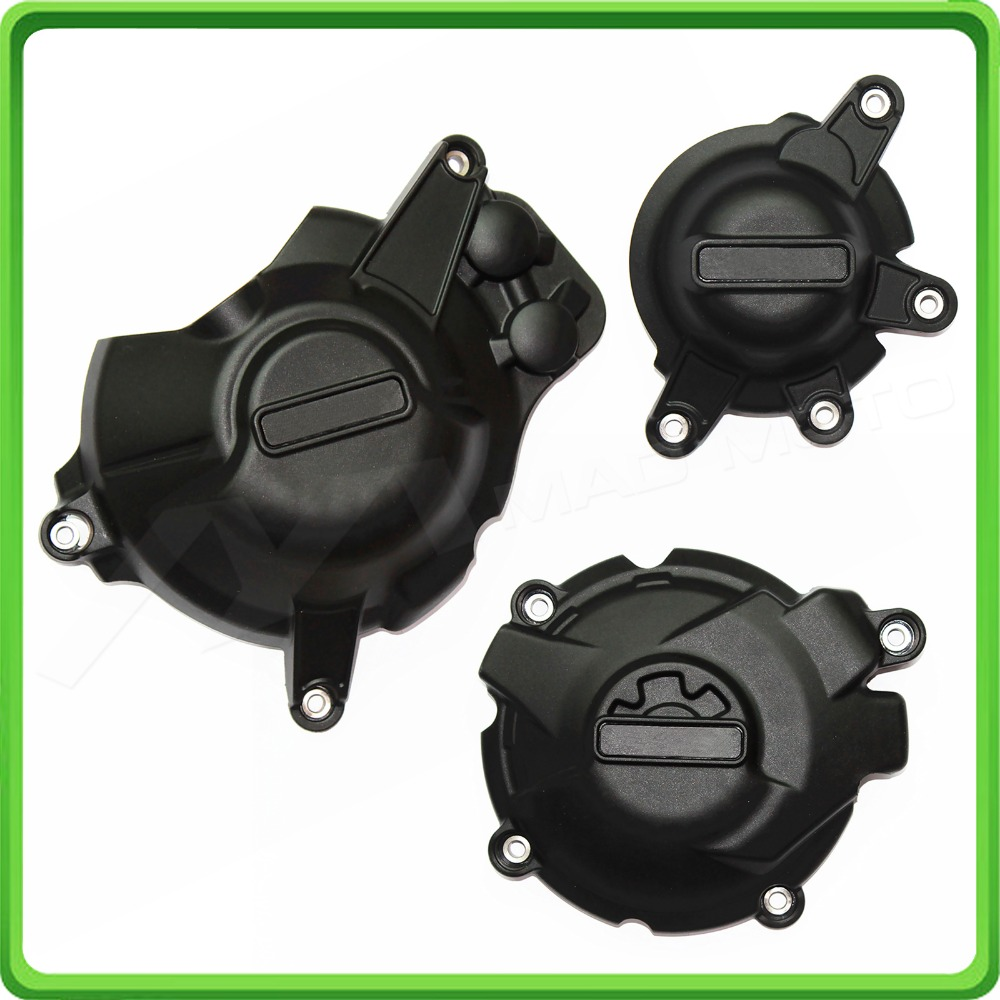 Motorcycle Engine Case Cover Slider / Protector Set for Honda <font><b>CBR</b></font> <font><b>1000</b></font> <font><b>RR</b></font> CBR1000RR Fireblade <font><b>2017</b></font> / SP <font><b>2017</b></font>-2018 image