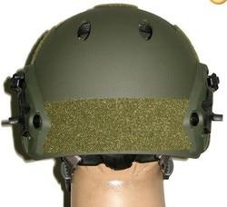 Special Forces Helmet ACH Helmet W NVG Mount, Side Rail Adjustable Field OD