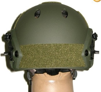 Special Forces Helmet ACH Helmet W NVG Mount, Side Rail Adjustable Field OD