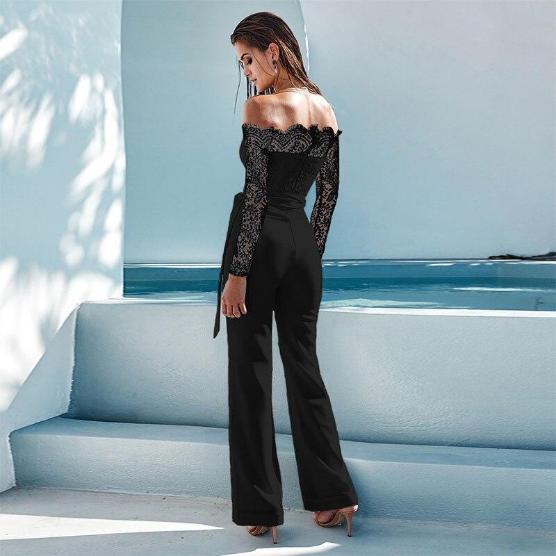 81f8b60e406 Новая Женская весенне осенняя пикантная Женская одежда с открытыми плечами  и длинными рукавами купить на AliExpress