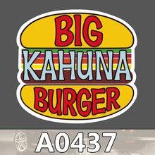 Bevle A0437 Big kahuna Burger Wasserdicht Mode Kühle DIY Aufkleber Laptop Gepäck Skateboard Kühlschrank Auto Graffiti Cartoon Aufkleber