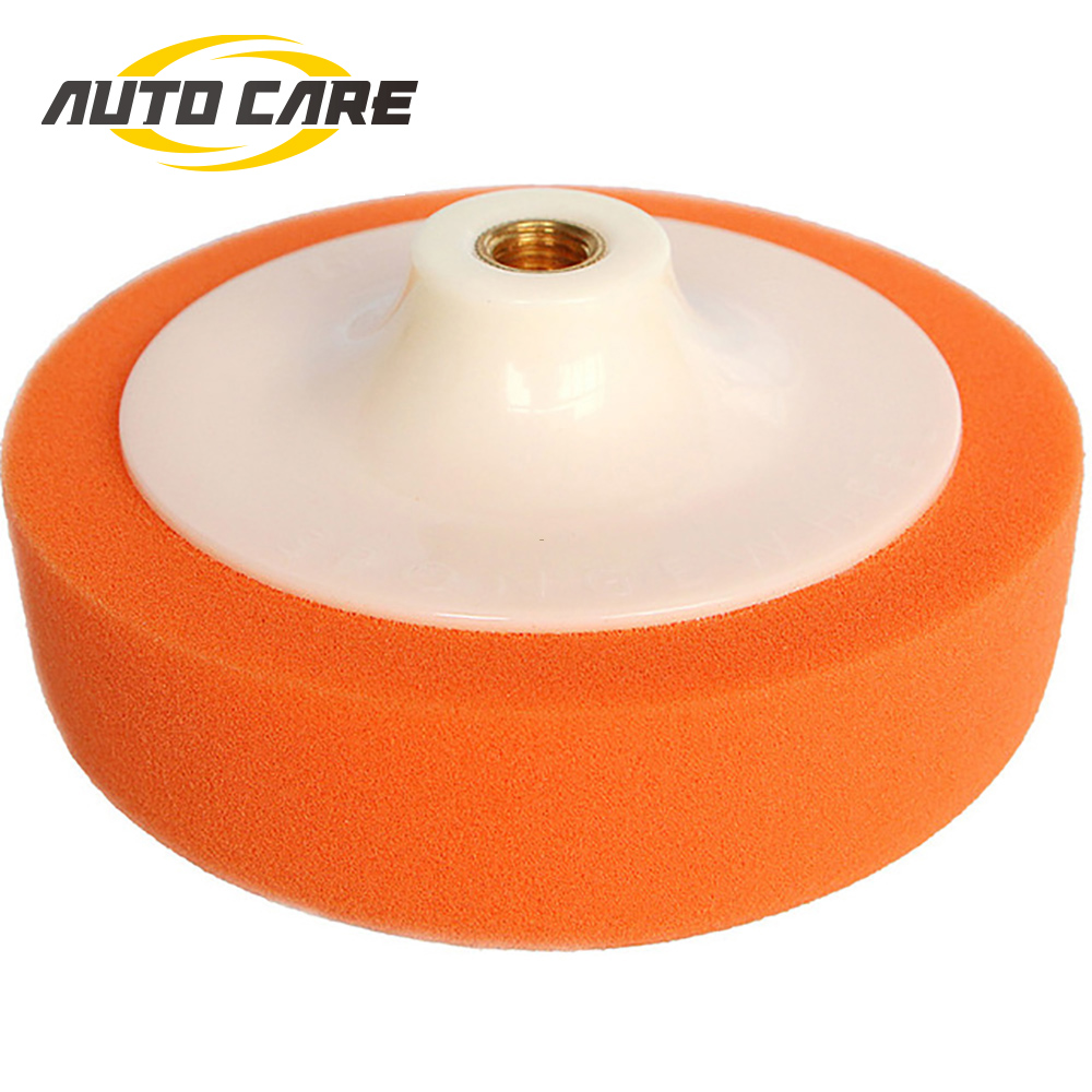6 Inch 140mm Car Polishing Cleaning Washing Sponge Buffer Pad Waxing Polish Wheel Car Polisher Accessories M14 M16 Polisher Pad