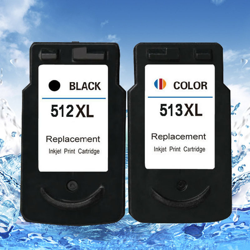 ФОТО 2PCS  remanufactured  pg512 cl513 ink cartridge for  canon pixma ip2700/mp240/mp250/mp260/mp270/mp280/mp480 printer